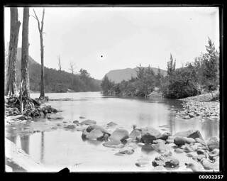 Riverscape, possibly along the Hawkesbury River NSW, 1880-1909 | by Australian National Maritime Museum on The Commons