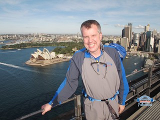 At the the top of the Sydney Bridge | by Major Nelson