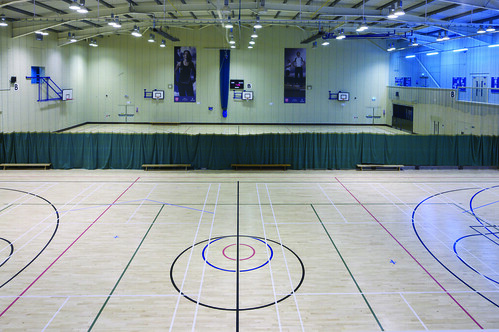 Sports Hall The Lee Westwood Sports Centre Is Located On