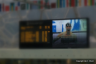 Michael Phelps Scoreboard (100 Butterfly) | by idashum