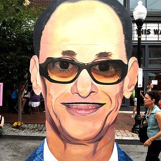 larger than life John Waters. | by M(elia)