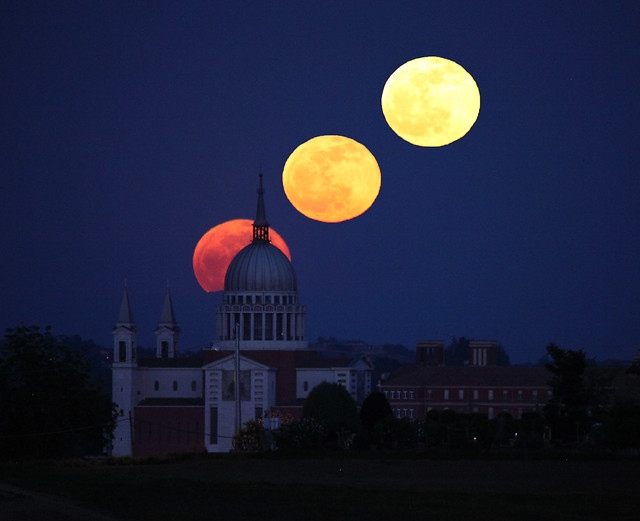 When Full Moon rises