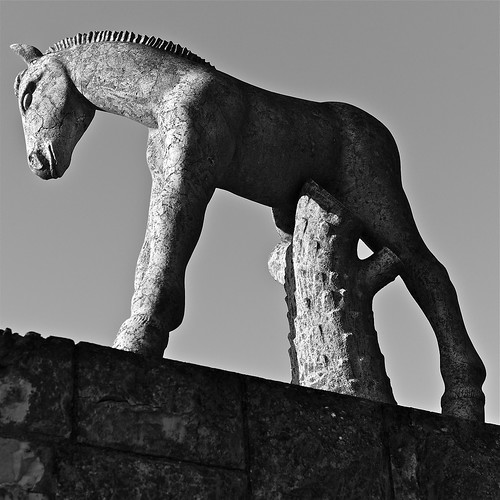 Horse sculpture | by pedrosimoes7