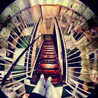 Wooden staircase #turtlejacket fisheye | by Patrick Ng