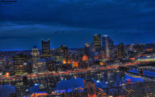 Blue hour over Pittsburgh | by Bill Maksim Photography
