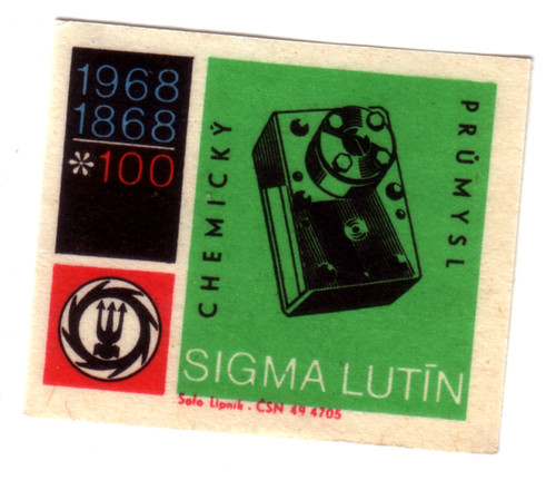 Czechoslovakia Matchbox label | by Dr R Charles