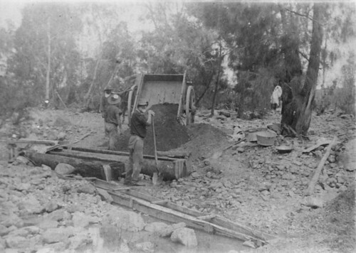 Gold mining on Mount Leyshon near Charters Towers, ca. 1882 | by State Library of Queensland, Australia