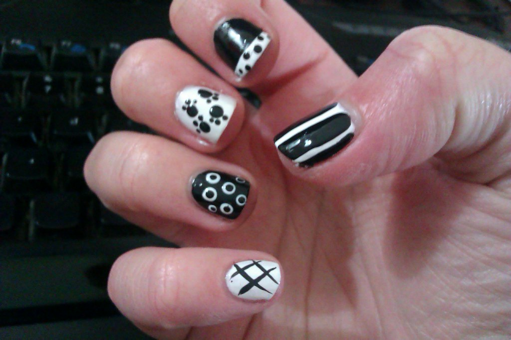 14 Simple And Easy Diy Nail Art Designs And Ideas For Shor Flickr