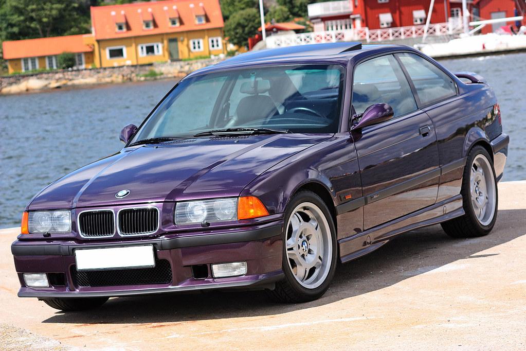 BMW M3 E36 3.0 1994 Daytona Violet   My lowmilage (116000km)…   Flickr