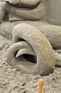 Sand Sculpture ~ Dragon Draughts | by Rodd Taylor