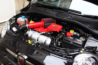 Fiat 500 Abarth, engine bay detail, c2011 | by Chappells10