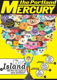 Portland Mercury Cover | by R Bubnis
