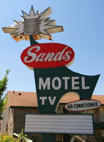 IL, Ottawa-IL 23 Sands Motel Neon Sign | by Alan C of Marion,IN