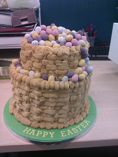 Easter Two tier cake | by platypus1974