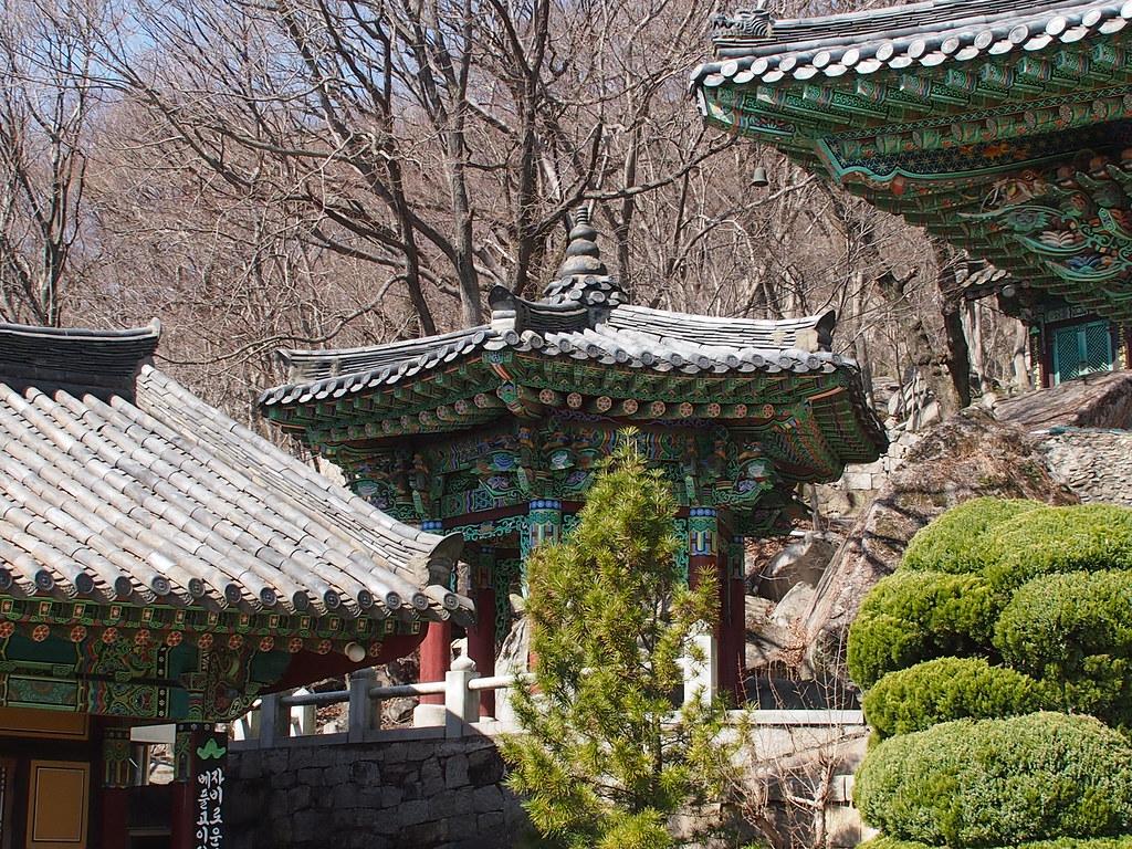 Estancia en Templo Beomeosa y Trekking monte Bodangong en Busan
