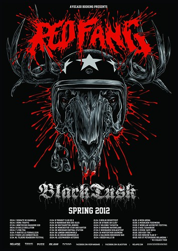 Red Fang European Tour 2012 | by Mark McCormick Art