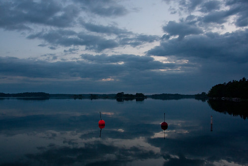 Buoys at night | by Marcel Oosterwijk