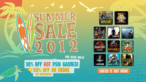 SummerSale2012_PR-KeyArtPiece | by PlayStation.Blog