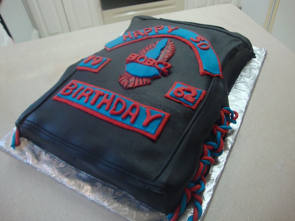 Biker Vest Cake Sweet Creations Flickr