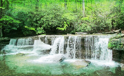 FALLS AT CAMP CREEK STATE PARK | by Beviea