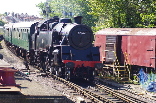 80104 BR Class 4, Swanage Railway, 24th July 2012 | by OG47