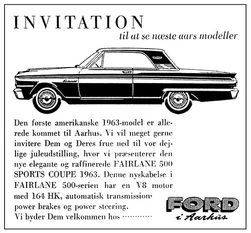 Ford Fairlane (1962) 500 Sports Coupe from Denmark 2v3 (AFTER) | by H2O74