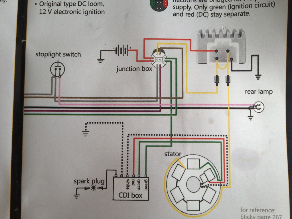Lambretta Wiring Diagram Library Parts With 12v Upgrade By Skywalker5446