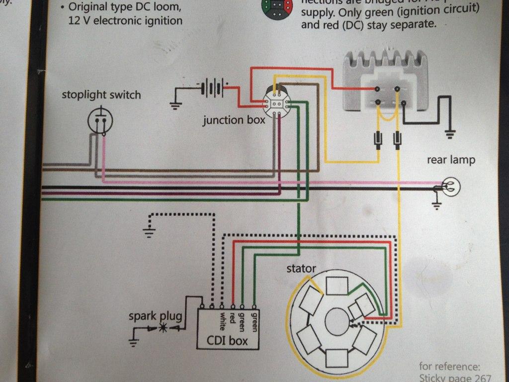 ... Lambretta wiring diagram with 12v upgrade | by Skywalker5446