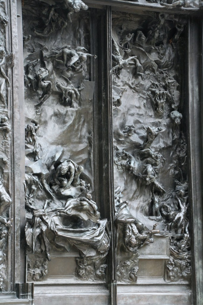 ... The Gates of Hell 2012 @Musee Rodin #8   by dominotic & The Gates of Hell 2012 @Musee Rodin #8   Detail from The Gat\u2026   Flickr