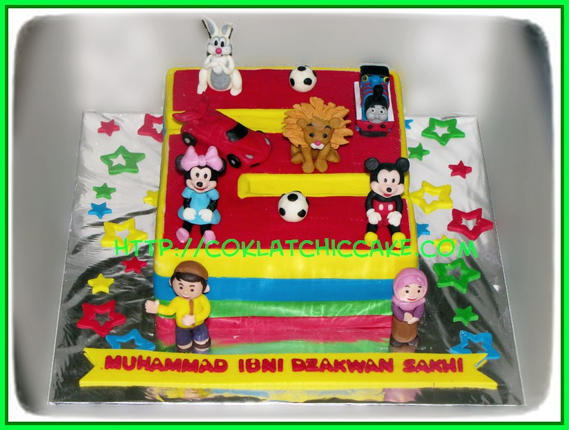 Cake Angka