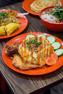 Nasi Pattaya (with added fried chicken), $15.80: Ho Jiak, Strathfield. Sydney Food Blog Review | by insatiablemunch