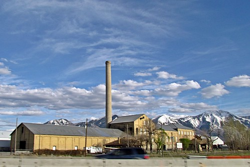 Factory on Interstate 15 North of Nephi, Utah | by 5of7