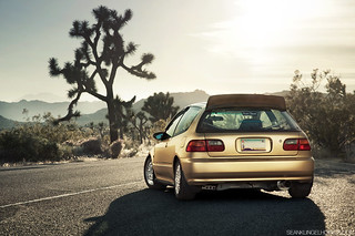 Jorge Hernandez's Gold EG Hatch for Super Street | by Sean Klingelhoefer