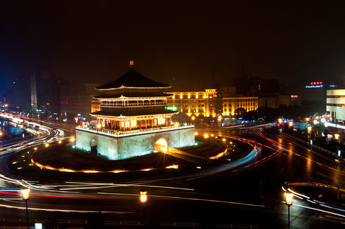 Xi'an Bell Tower | by Mark Fischer