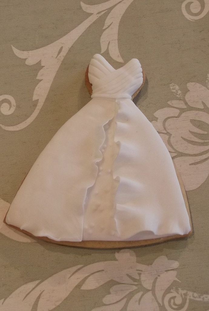 Wedding Dress Cookie Favour | A variety of Wedding Cookie Fa… | Flickr