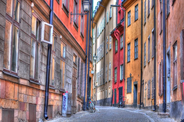 Gamla Stan in Stockholm HDR