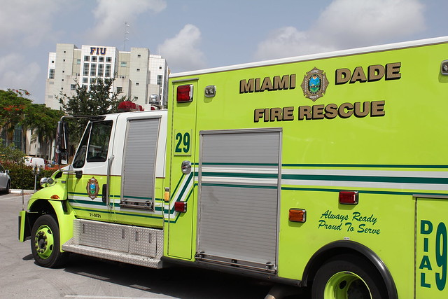 FIU doctors join South Florida firefighters and hospitals in effort to save stroke victims' lives