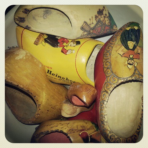 Wooden shoes: part of my collection | by chickenfoot