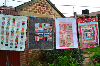 Dolly quilts on the line | by sew&sews