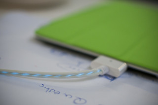 Ipad cable showing voltage | by Campus Party Europe in Berlin
