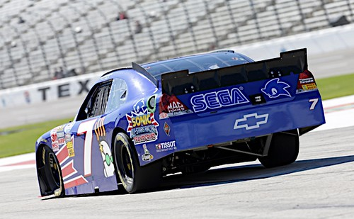 Danica Patrick at the O'Reilly Auto Parts Challenge, Nov 3 2012 | by SEGA of America