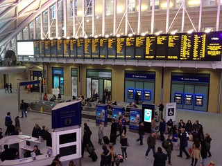 Kings Cross - New Concourse Departure Boards | by carlbob