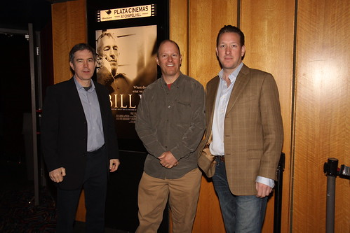 BILL W. director Kevin Hanlon, producer Dan Carracino and actor Blake Evans @ Knight Night in Akron | by ClevelandFilm