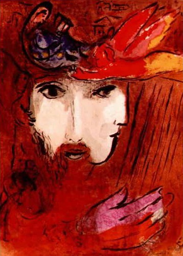 [ C ] Marc Chagall - David and Bathsheba (1956) | by Cea.