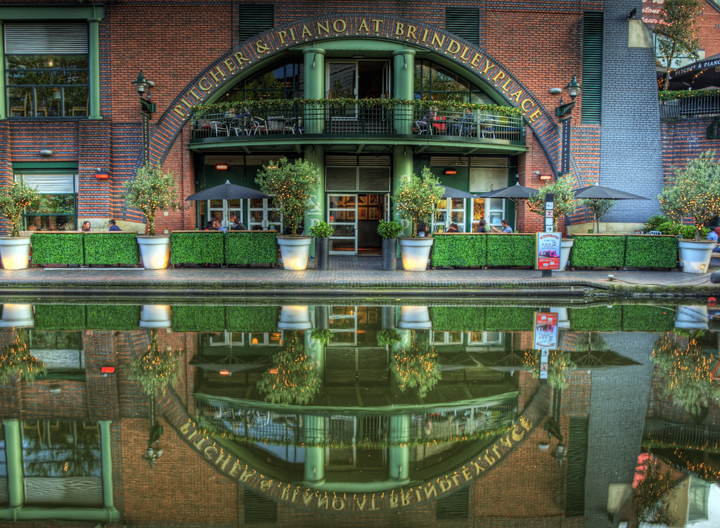 Reflections on a Canal - Birmingham