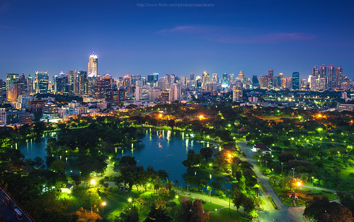 Lumpini Park & City | by Weerakarn