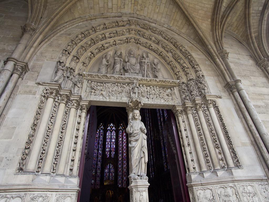 Sainte Chapelle West Doors