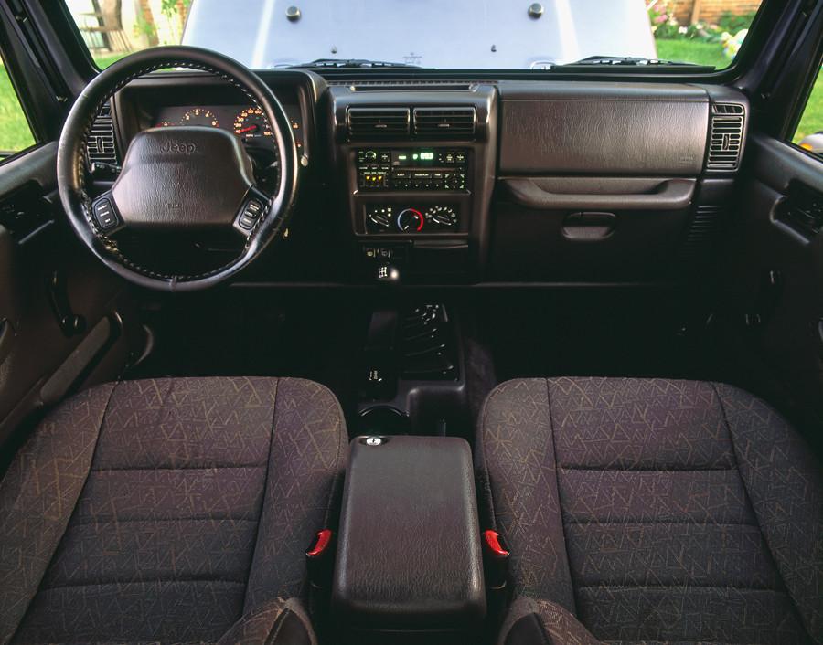 ... Jeep Wrangler TJ Interior   By A. Johnson