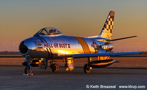 F-86 Hell-Er Bust X Sunset CCA 2013 Sat 1331 © Keith Breazeal-2 | by Keith Breazeal Photography