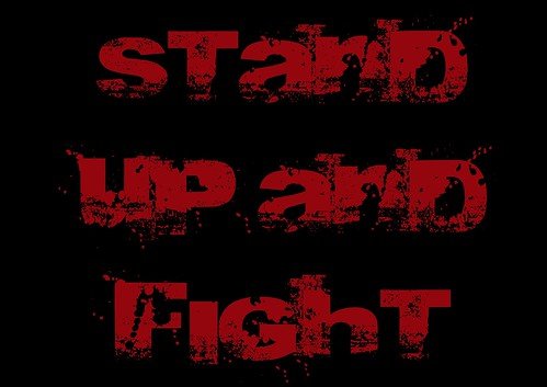 Stand up and fight | by Teacher Dude's BBQ
